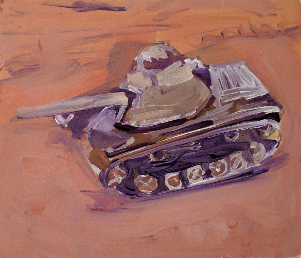 tank-2016--acryl-on-wood-26x22